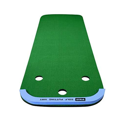 3M Portátil portátil Golf Putiendo Green Swing Entrenador Set Putter Fairway Césped Golf Capacitación Oficina Inicio Mat WTZ012 (Size : 1 * 3M)