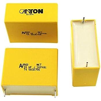 5x MKP-Capacitor rad 4,7µF 420V DC ; 27,5mm ; R71MR4470AA30K ; 4,7uF
