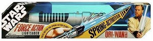 Hasbro Star Wars OBI-Wan Force Action Extending Lightsaber