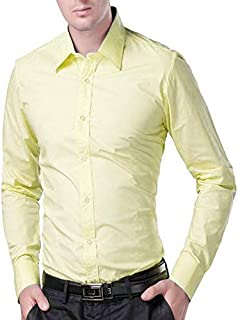 Men's Cotton Green Solid Full Sleeve Shirts