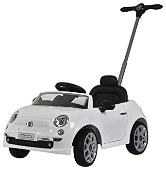 Best Ride On Cars Fiat Push car White