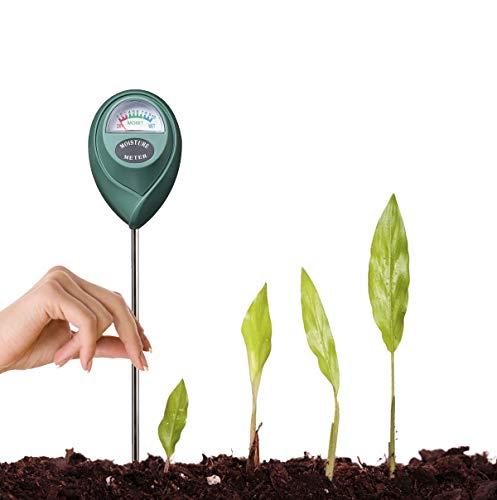 DBzon Soil Moisture Sensor Meter - Soil Water Monitor, Hydrometer for Gardening, Farming, Ground, Compost, Garden Soil, No Batteries Required