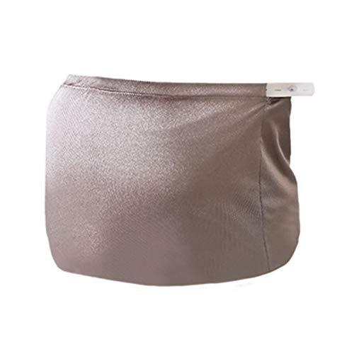 JKJ Strahlenschutzkleid für Schwangere, Mutterschaft Cami Camisole, All Silver Strahlenschutz, mit einstellbarem Taillenumfang, Verbreiterte elastische Taille, für Schwangerschaft & Mutterschaft