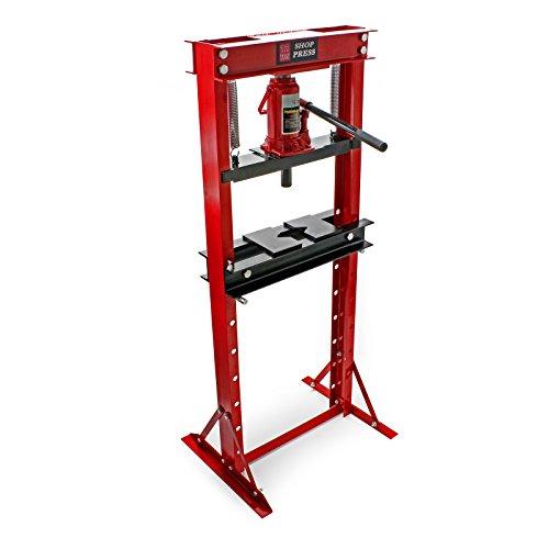 12T Prensa hidráulica Prensa taller Fuerza presión 12000kg