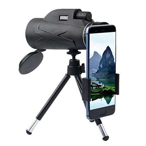 Yhgpom Portable80x100 Outdoor Single Mini HD Monocular Cell Phone Camera Lens TelescopeSuit for Hiking Camping Bird Watching Best Gifts for Men Child