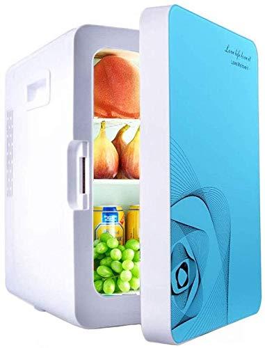 LLYU Congeladores portátiles Refrigerador for automóvil 20L Dormitorio de Estudiantes de Baja Potencia Mini automóvil Sistema de refrigerador pequeño Coche refrigerado Hogar de Doble Uso