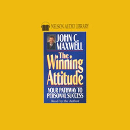 The Winning Attitude audiobook cover art