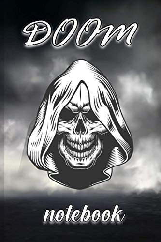 Doom: Notebook, journal, horror, 120 page ruled