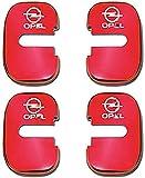 NA 4Pcs Coche Estilo Cubierta de Cerradura de Puerta, para Opel Insignia Astra GTC Door Lock Cover Acero Inoxidable Auto Protección Accesorios