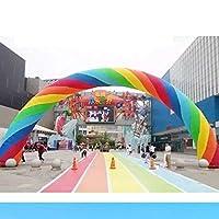 GOOG インフレータブル虹のアーチのため販売インフレータブルエントランスアーチ (10m)