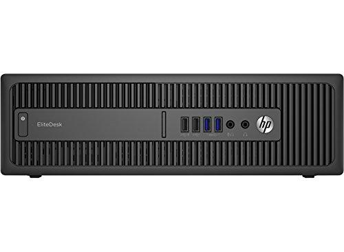 HP EliteDesk 800 G2 3.2GHz i5-6500 SFF Negro PC - Ordenador de sobremesa (3,2 GHz, 6ª generación de procesadores Intel Core i5, 8 GB, 1000 GB, DVD Super Multi, Windows 10 Pro)
