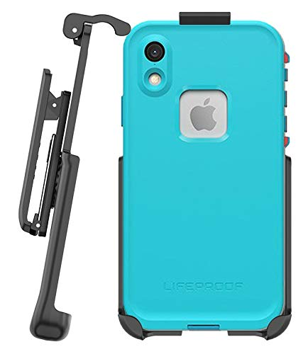 """BELTRON Belt Clip Holster for Lifeproof FRE Series - iPhone Xs MAX 6.5"""" (case not Included) - Features: Secure Fit, Quick Release Latch, Durable Rotating Belt Clip & Built-in Kickstand"""
