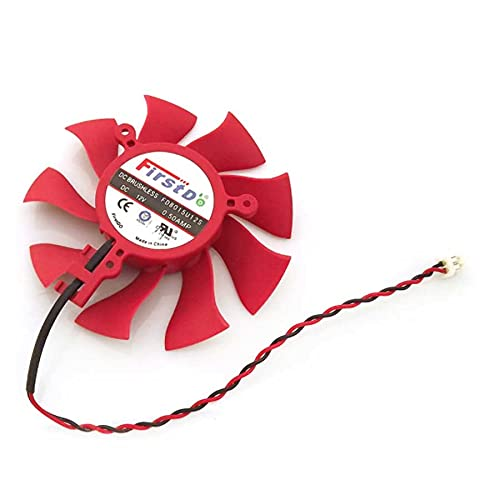 New FD8015U12S DC12V 0.50A 2Pin 75mm 39x39x39mm For XFX HD4860 HD4890 HD6790 HD6870 HD6770 Graphics/Video Card Cooling Fan