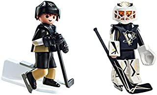 SET NHL Pittsburgh Penguins Player and Goalie Action Figures