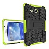 XITODA Galaxy Tab 3 Lite 7'' Funda,Samsung Tab3 Lite 7.0 Protección, Hybrid PC + TPU Silicone Funda con Stand para Samsung Galaxy Tab 3 Lite 7.0 SM-T110/T111/T113/T116 Cover Case Carcasa - Verde