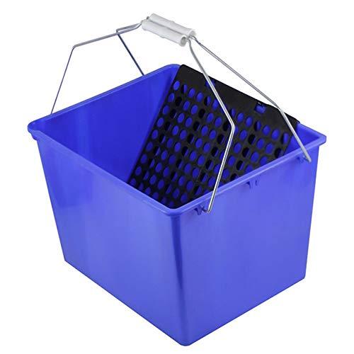 HIDALGO 031042 Cubeta pintor 16 litros c/rejilla, Azul