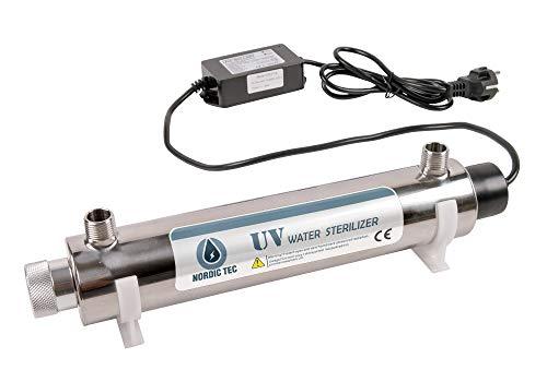 SANITLINE. UV Sterilisator Filter, UV Lampe