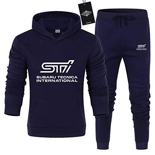 SU-B.ARU STI STI Plante DE Hombres Conjunto DE Juego Jogging JUJA DE CAPULARES + PANTALLO DE PANTALLOS,2,XS/X~Small