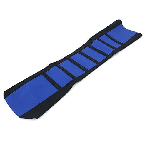 Alamor Coprisedile Per Moto Universale Con Impugnatura Morbida Pettorina In Gomma Con Gommino Per Sporco Enduro-Blue