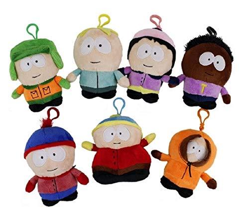South Park Süße Figuren Anhänger Bagclips oder Schlüsselanhänger Plüsch 13cm (Cartman)
