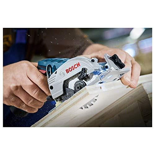 Bosch Professional Akku-Kreissäge GKS 12 V-26, kompakte Universalsäge mit 85 mm Sägeblatt, click and go, in praktischer L-BOXX, Art.Nr. 06016A1002 - 5