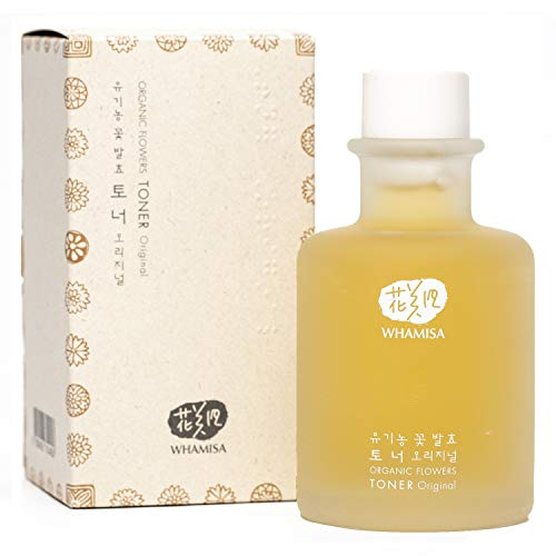 Whamisa Natural Fermentation Organic Flowers Skin Toner - Original / 120ml / EWG Verified(tm) For Your Health