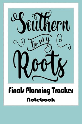 Notebook - Finals Planning Tracker - This Exam Planner Notebook Is the Perfect Tool To Schedule and Organize Your Studies To 306