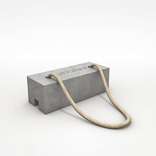 CO33 Wäscheständerhalter Beton-Gewicht zum Beschweren - Made in Germany KlotzCO