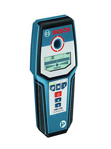Bosch Professional Digitales Ortungsgerät GMS 120 (1 x 9 V Block Batterie, Schutztasche, max. Ortungstiefe Stahl/Kupfer/stromführende Leitungen: 120/80/50 mm) - 9