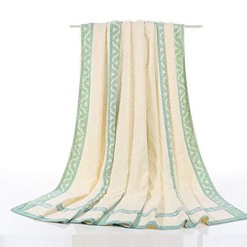 HOSD Handtuch dick Decke Siesta Air Conditioner, grün, 150*200cm