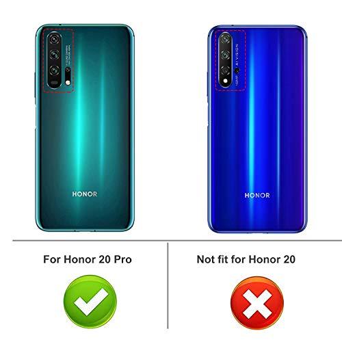 iBetter für Honor 20 Pro Hülle, Soft TPU Ultradünn Cover [Slim-Fit] [Anti-Scratch] [Shock Absorption] passt für Honor 20 Pro Smartphone - 2