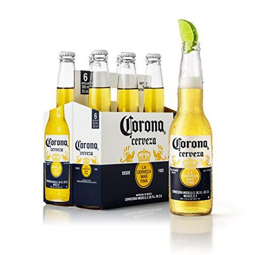 Corona Cerveza - Paquete de 6 x 355 ml - Total: 2130 ml