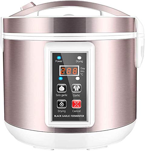 4YANG Fermentador de ajo Negro 5L Fabricante de AjosHealth Food Maker Control Inteligente Completamente automático Cocina de Bricolaje con múltiples Dientes de ajo