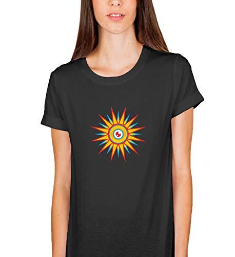 Sun Eyes In Sky Mystic_003891 T-Shirt Birthday for Her LG Woman Black