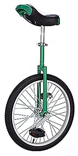 Unicycles Unicyx Bike, Entrenador de Bicicletas Ajustable, 20 Pulgadas A Prueba de Llantas Balance de Tinta de neumático para Principiantes para niños Adulto Ejercicio Divertido Fitness