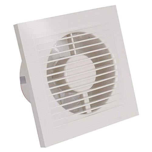 LANDUA Extintor montado en Ventana Ventilador con luz indicadora, Potente y Delgado de baño/Cocina/Sala de Estar (Size : 5 Inch)