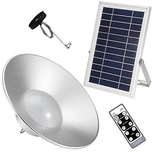 XHDZ Solar Hängende Lampe,Solarleuchten mit Fernsteuerungs, Schuppen Licht Hängende Lampe für Outdoor-Aktivitäten, Wandern, Camping, Zelt, Angel-Beleuchtung