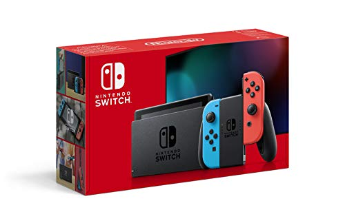 Nintendo Switch (Neon Red/Neon blue) £279.99 at Amazon