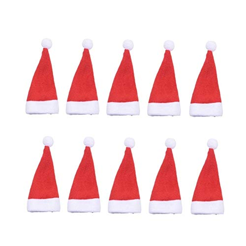 LGL Christmas Party Decorations Christmas Tableware Bag - 10Pcs Christmas Decoration Tableware Mini Cover Small Knife Fork Spoon Holder Christmas Table Decoration Supplies Decorationsupplies