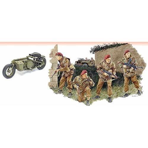 Dragon 6586 2nd SAS Regt France 1944 1:35 Plastic Kit Maquette