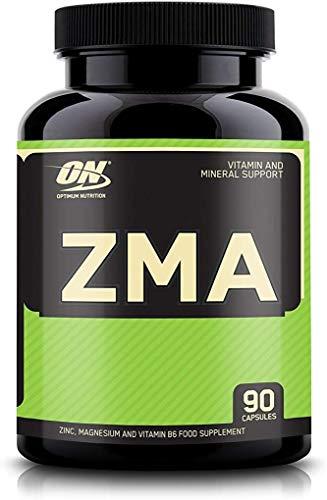 Optimum Nutrition ZMA Integratore non Aromatizzato, 90 Caps, con Zinco Magnesio e Vitamina B6