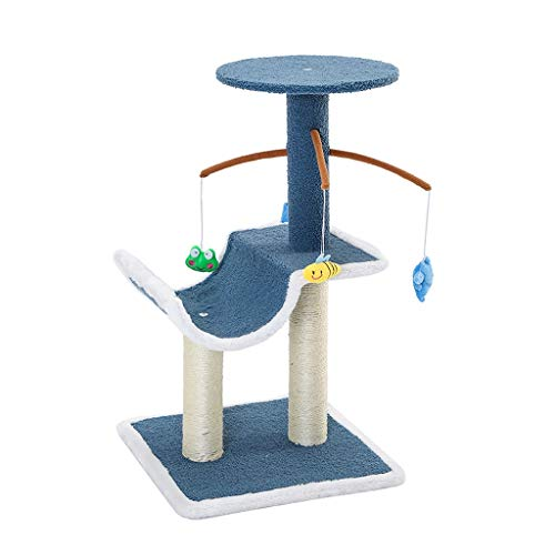 Diaod Suministros para Mascotas Treser Cats Tower Tower Pey Play Treeacrobatics Chat Troxing Jumping Toy Rack
