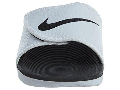 Nike Mens Kawa Adjust White Black Synthetic Sandals 42.5 EU