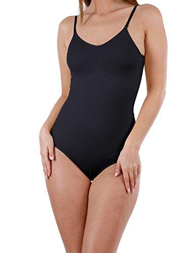 Yenita Femmes body gainant, avec bretelles régables - Shapewear