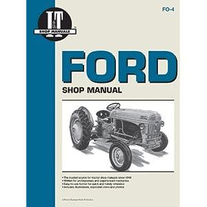 Ford Model 2N, 8N & 9N Tractor Service Repair Manual