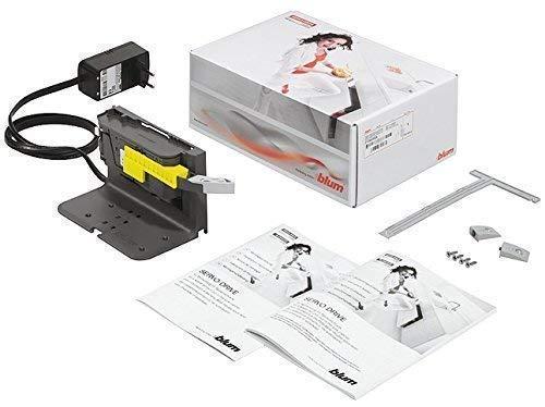 GedoTec® Blum SERVO DRIVE Antriebseinheit uno für Abfallsammler Abfalleimer | Öffnungsautomatik Komplettset – Modell: Z10NA20EA01 | Markenqualität für Ihren Wohnbereich