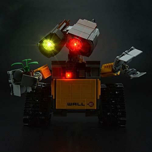 Nlne Conjunto De Luces para (Ideas Wall E) Modelo De Construcción De Bloques - Kit De Luz LED Compatible con Lego 21303 (NO Incluido En El Modelo)