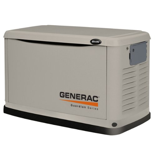 Hot Sale Generac 6439  10,000 Watt Air-Cooled Steel Enclosure Liquid Propane/Natural Gas Powered Standby Generator (CARB Compliant) without Transfer Switch