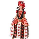 Atosa-56872 Disfraz Reina Corazones, Color Rojo, 7 a 9 años (56872)