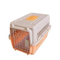 「美しいです」ペットケージ 犬猫兼用 持ち運び用 ケージ キャットケージ (M,写真色B)